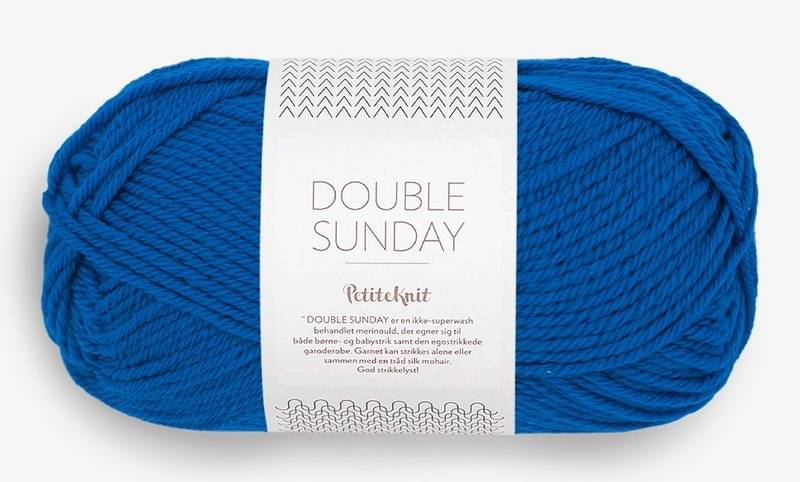 Double Sunday 6046 Petite Knit Electric Blue