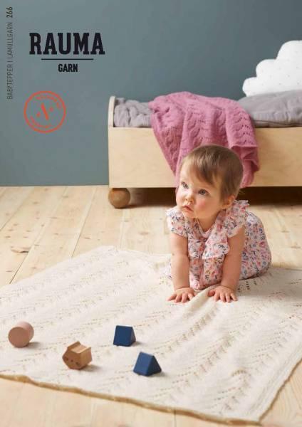 Rauma 266 Babytepper i Lamullgarn